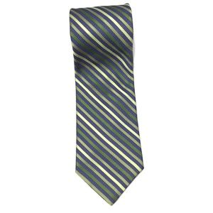 Nordstrom Smartcare Diagonal Striped 100% Silk Tie